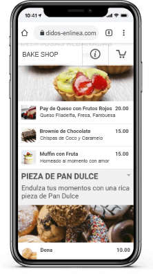 App Menu Pedido en Linea